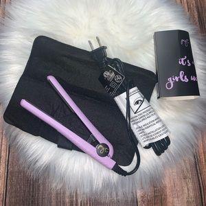 Pyt mini straightener purple NWT